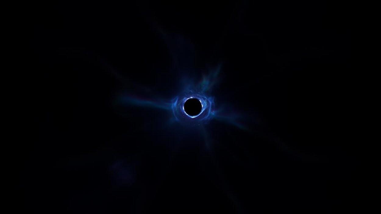 Image d'un trou noir