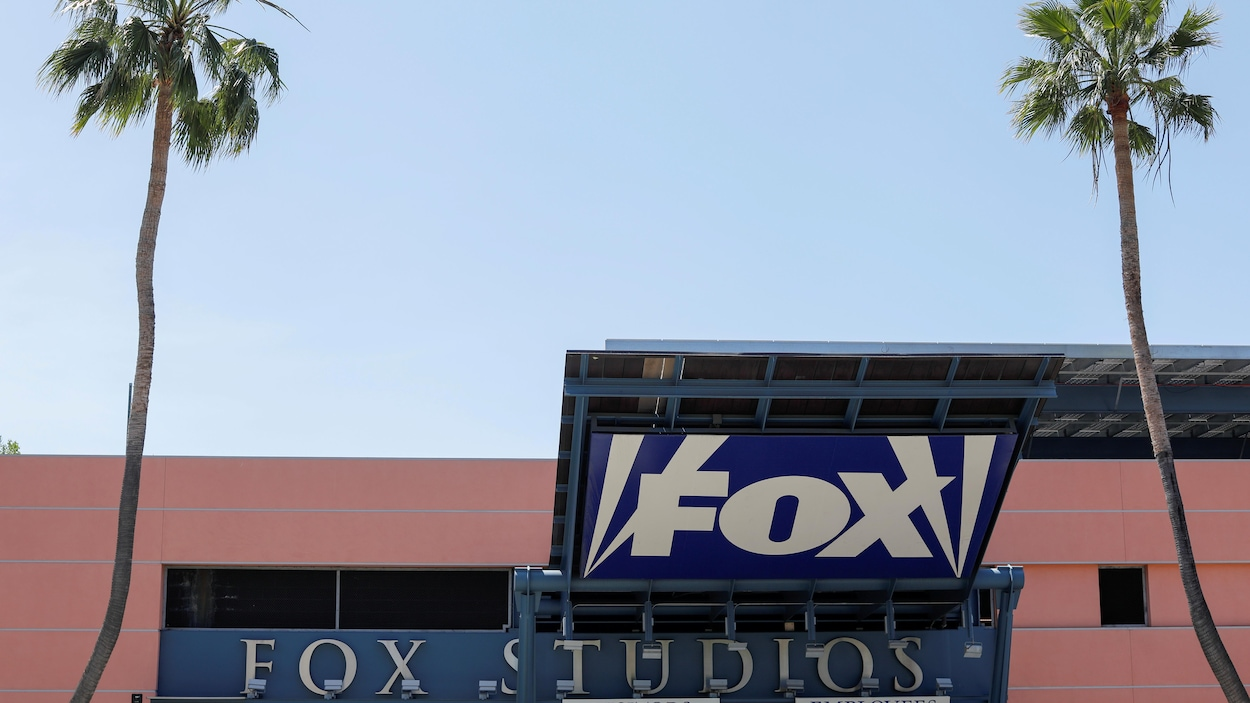 L'entrée aux studios de Fox  à Los Angeles, en Californie