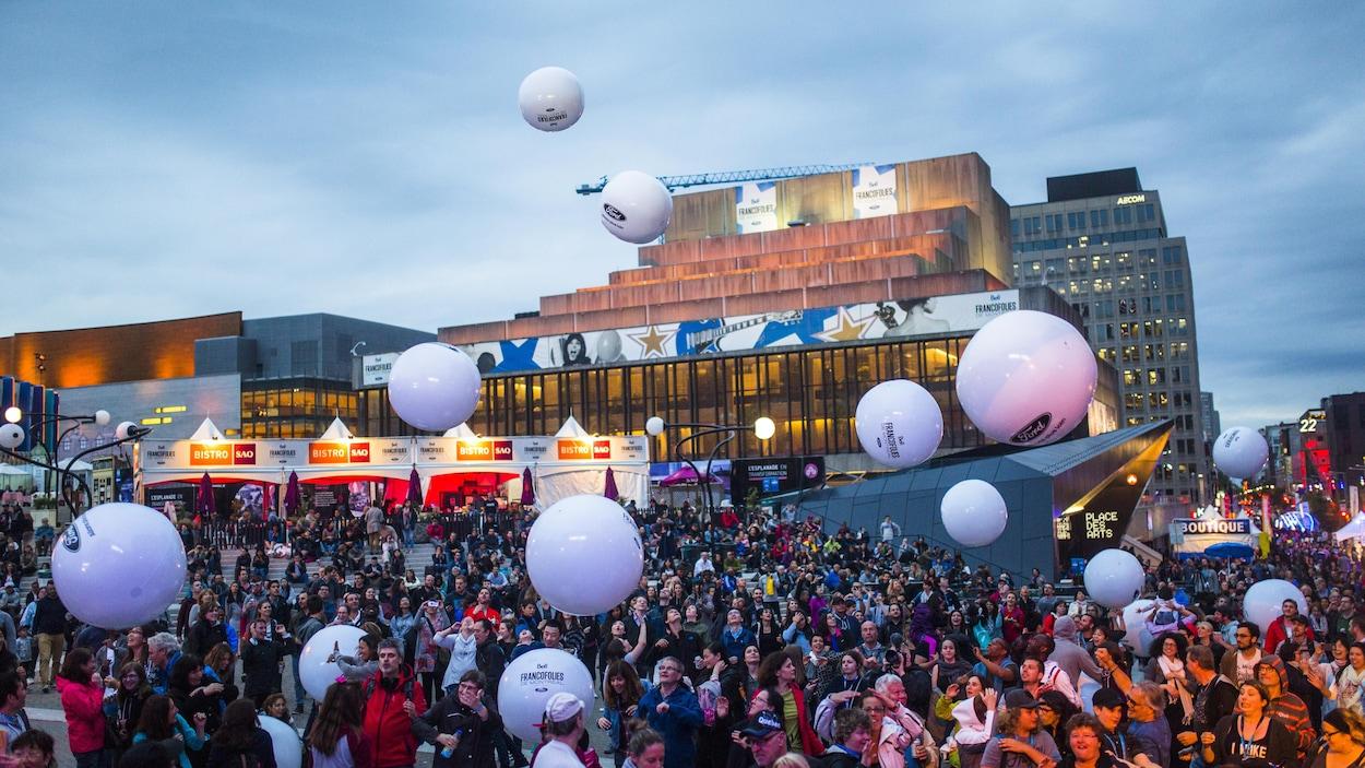 Le public montréalais est venu nombreux le 16 juin 2017 aux FrancoFolies.