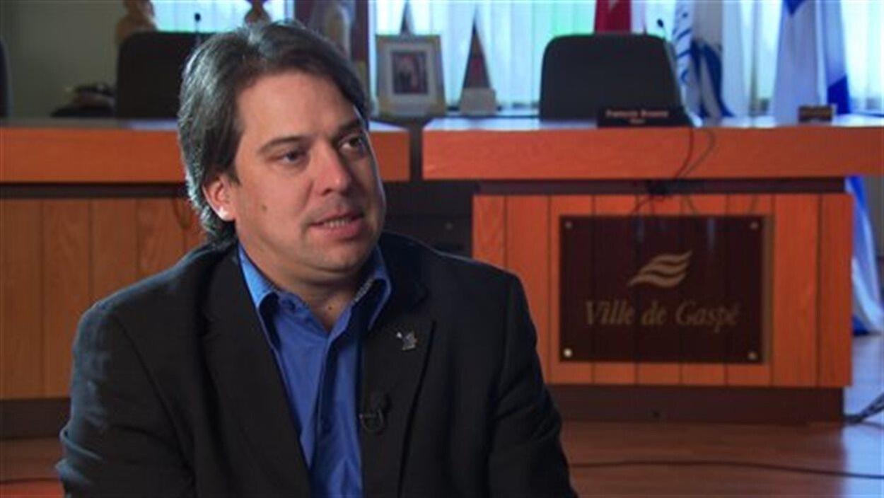 François Roussy, ancien maire de Gaspé