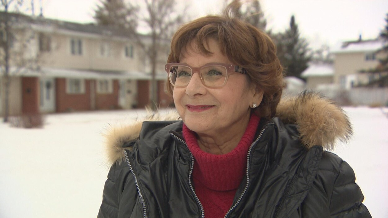 Françoise Sigur-Cloutier est surprise de continuer à présider l'Assemblée communautaire fransaskoise au début de l'année 2018.