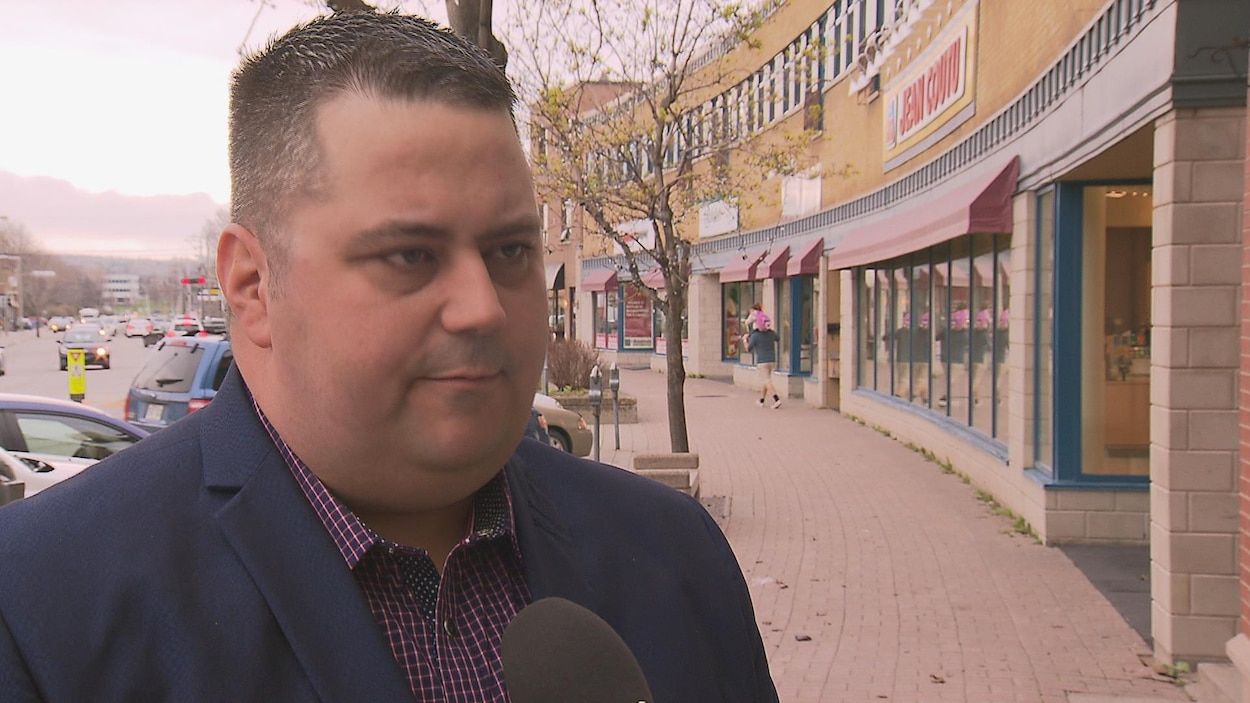 Frédéric Rioux, candidat à la mairie de Rimouski