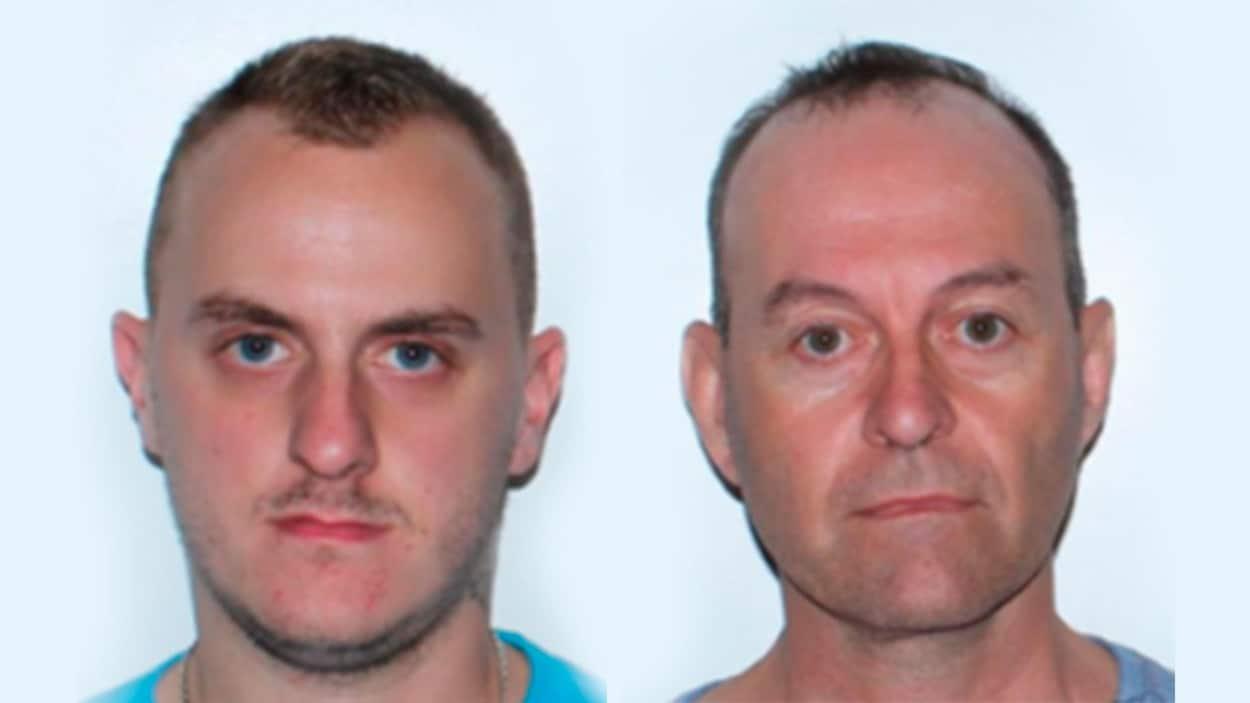 Frédéric Vézina, 24 ans et Stéphane Castonguay, 51 ans, font face respectivement à quatre et quatorze chefs d'accusation.