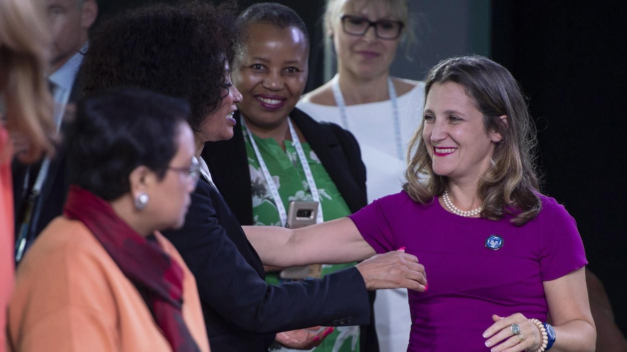 Première réunion de femmes ministres des Affaires étrangères — Montréal