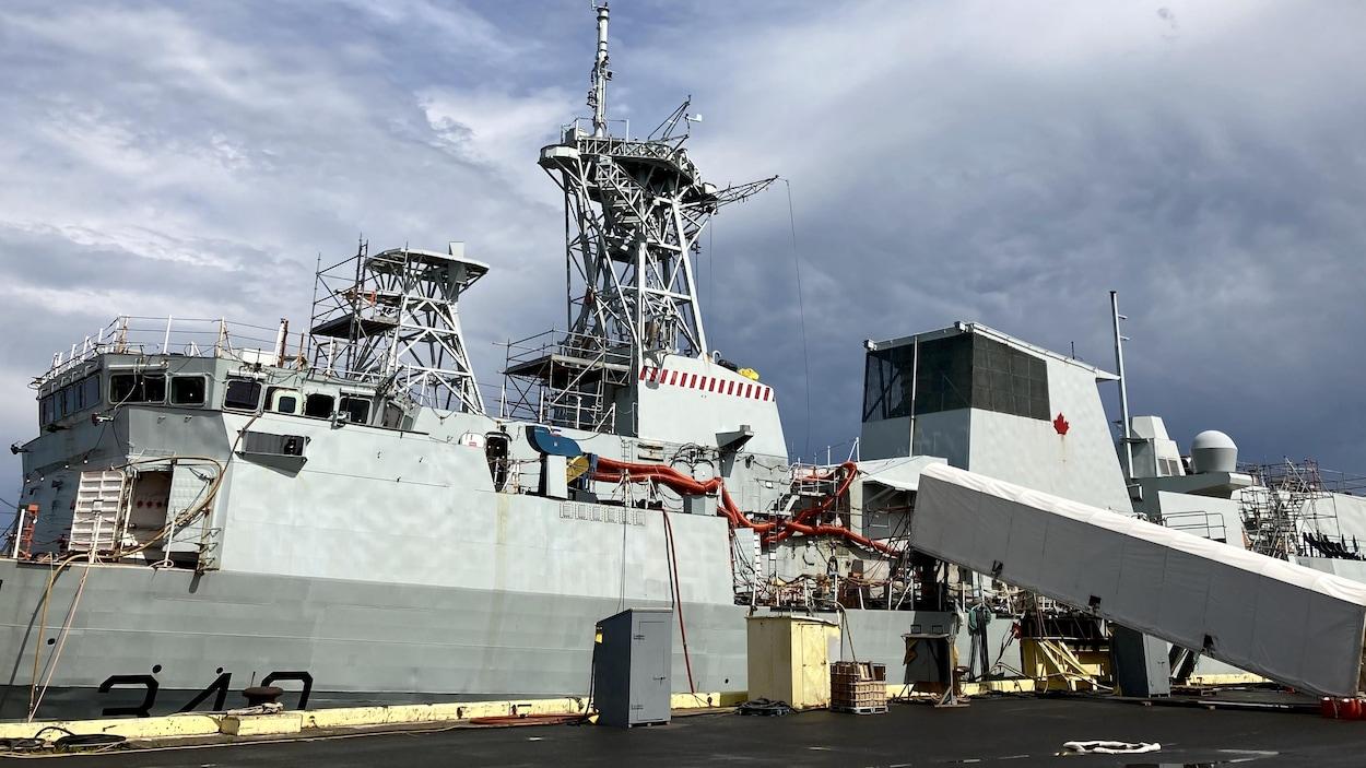 La Frégate HMCS St.Johns.