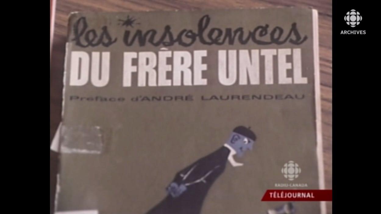 Couverture du livre Les insolences du Frère Untel.