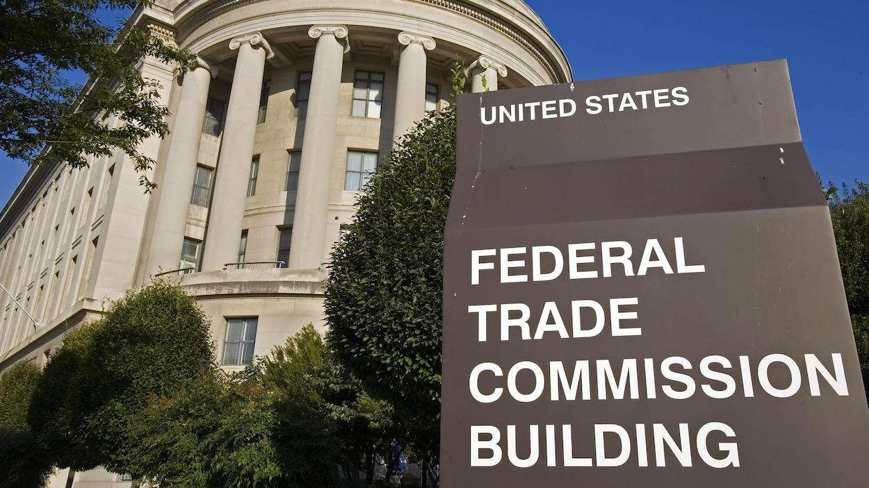 Le bâtiment de la Commission fédérale du commerce des États-Unis.