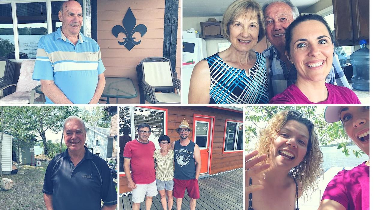 La Fureteuse fransaskoise visite les Fransaskois du lac Wakaw