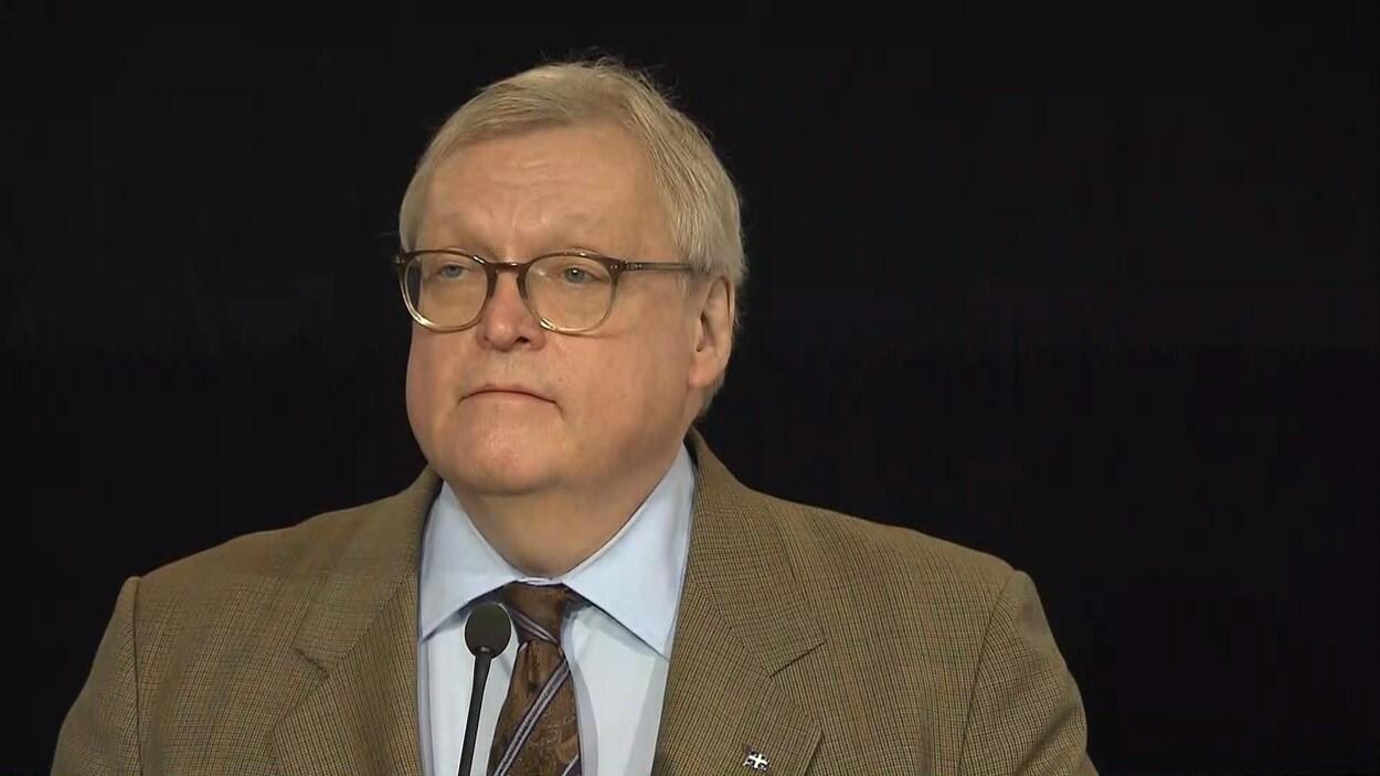 Le ministre de la Santé et des Services sociaux, Gaétan Barrette
