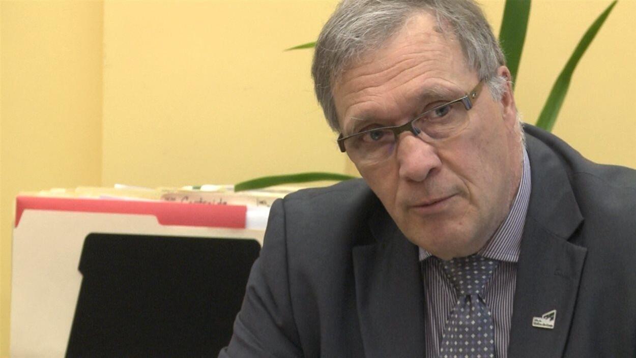 Le maire de Rivière-du-Loup, Gaétan Gamache