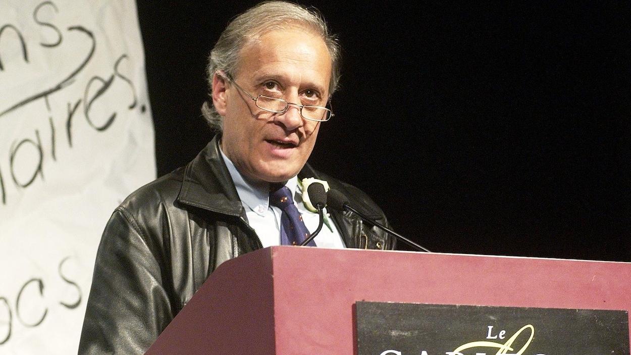 L'éditeur Gaëtan Lévesque