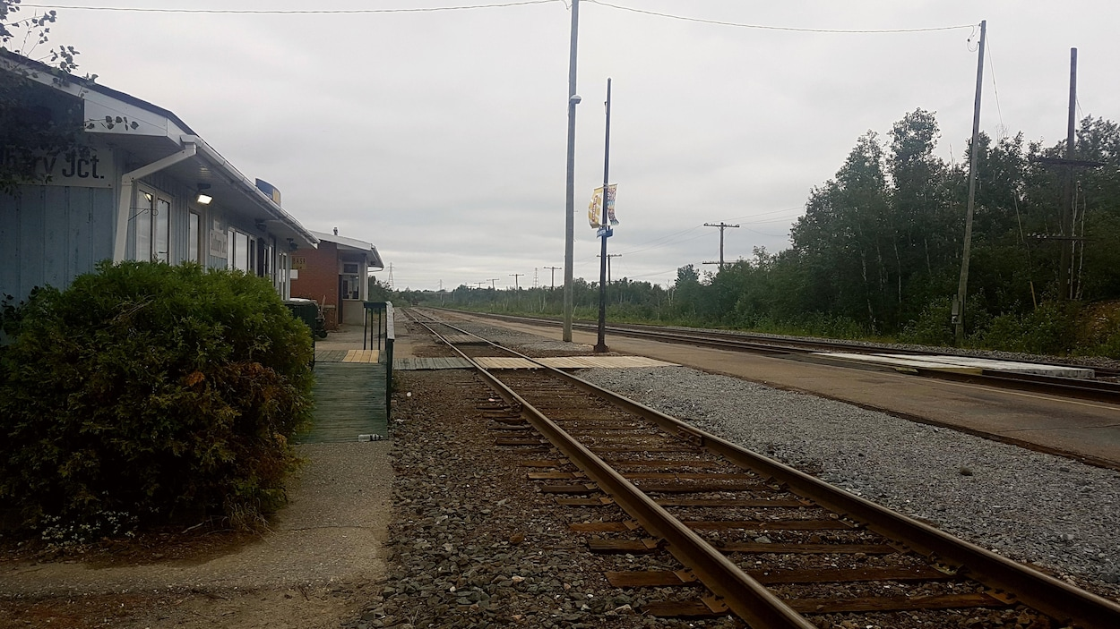 La gare ferroviaire de VIA Rail Sudbury Junction