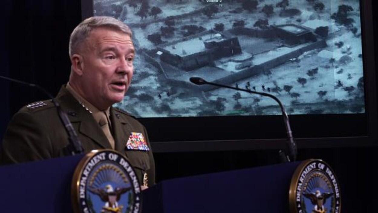 Le général américain Kenneth McKenzie.