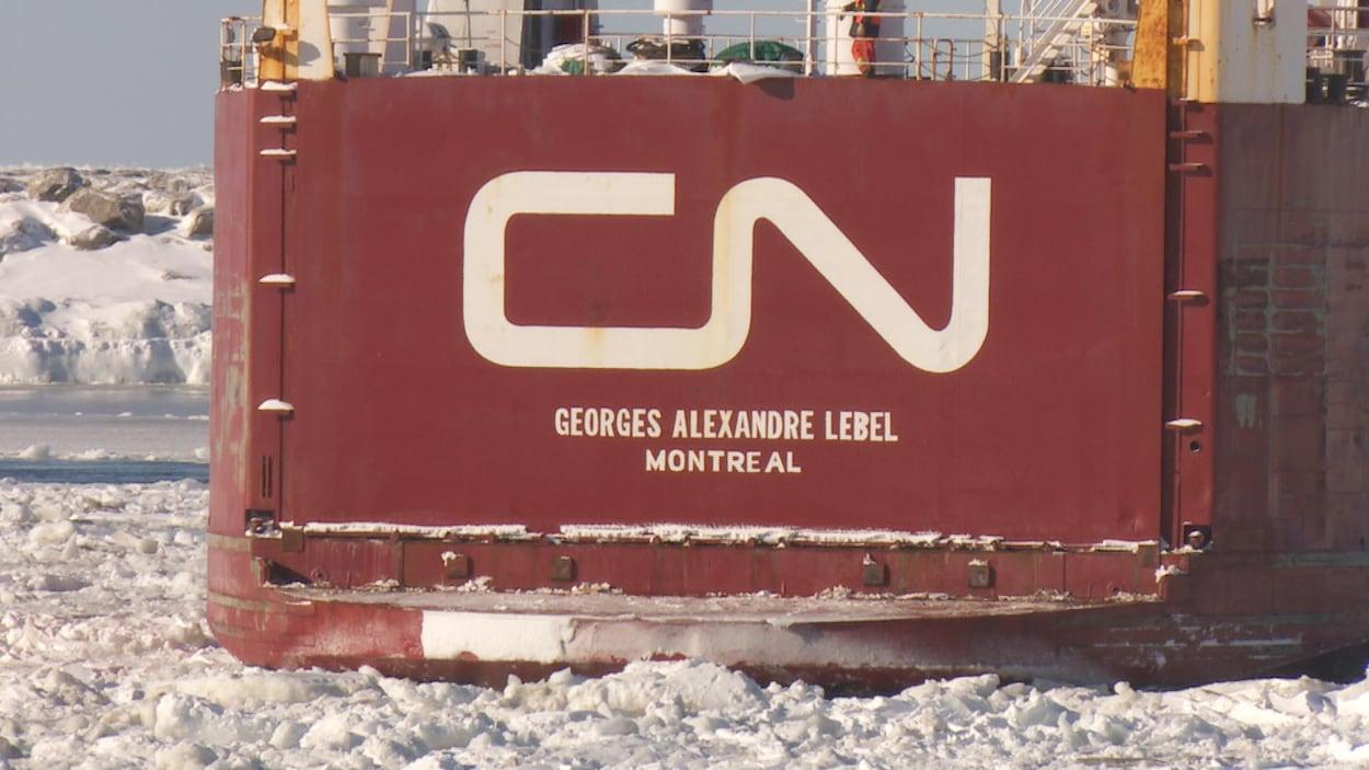 Le traversier-rail Georges-Alexandre-Lebel