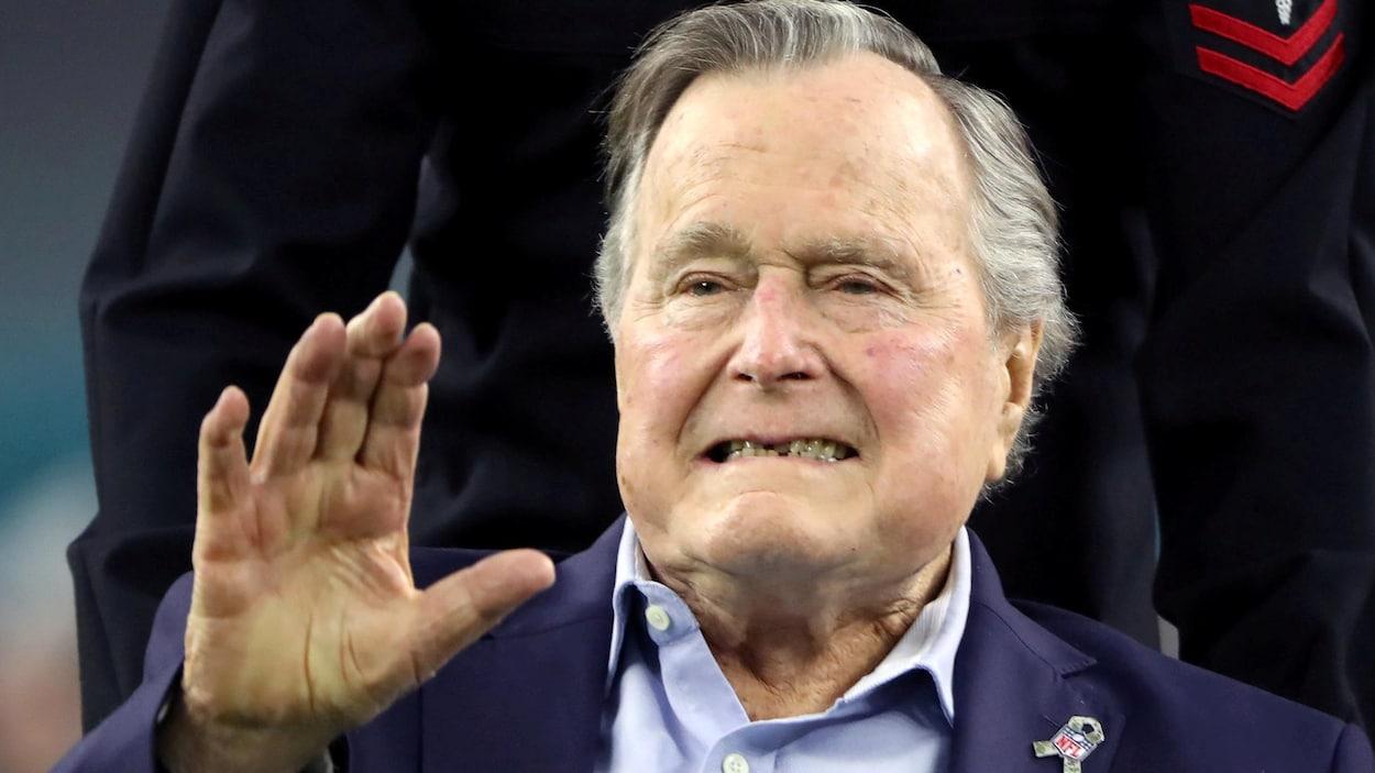 L'ancien président américain George H. W. Bush.