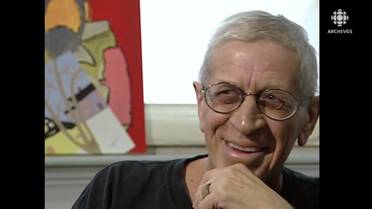 visage souriant de Gérald Leblanc.