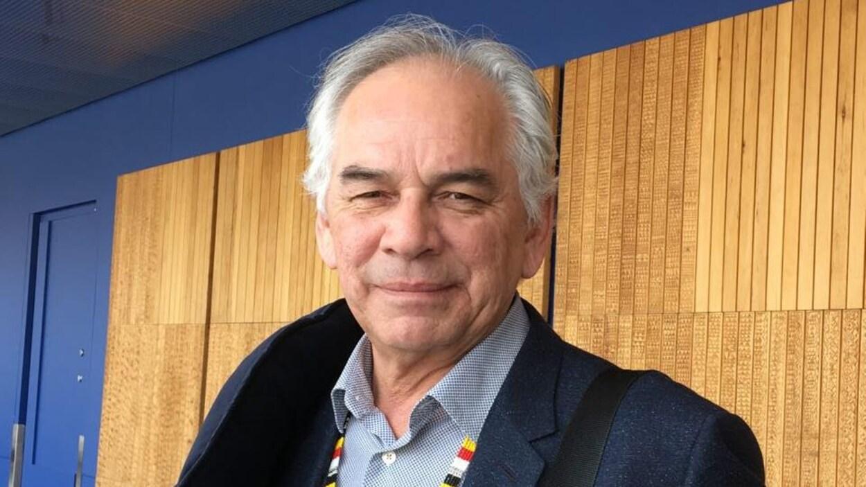 Le chef de l'Assemblée des Premières Nations du Québec et du Labrador, Ghislain Picard, lors des audiences de la commission Viens jeudi.