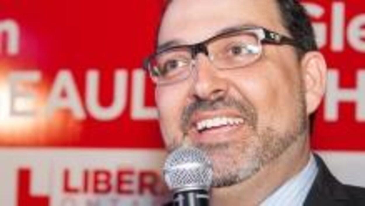 Glenn Thibeault, le député provinciale de Sudbury.