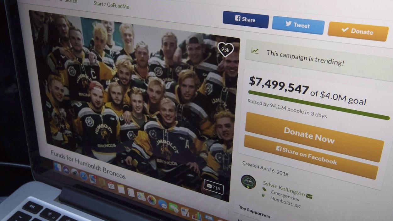 En neuf jours, la campagne a réussi à collecter plus de 12 millions de dollars.