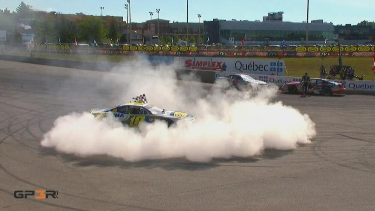 Le véhicule de Alexandre Tagliani lors de sa victoire au 49e Grand Prix de Trois-Rivières.