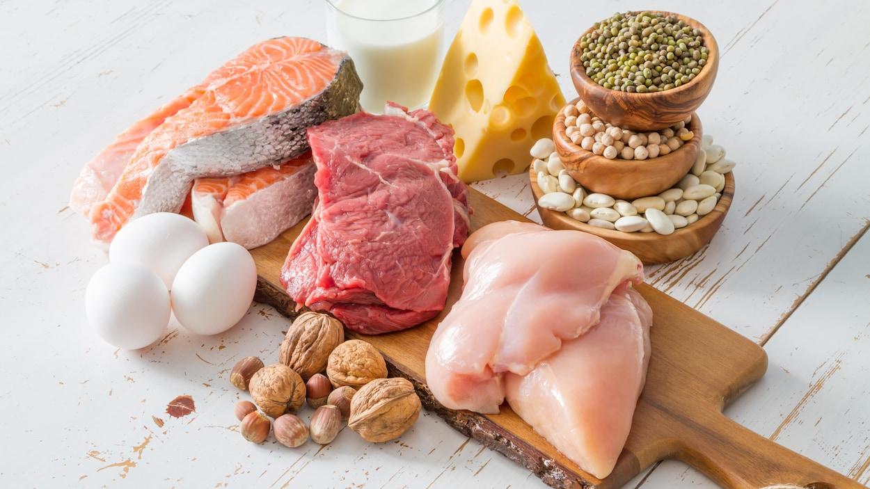 Des viandes, du poisson, des œufs, du fromage et des noix : où sont les bons et les mauvais gras?