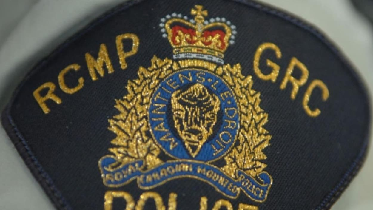 L'écusson de la Gendarmerie royale du Canada.