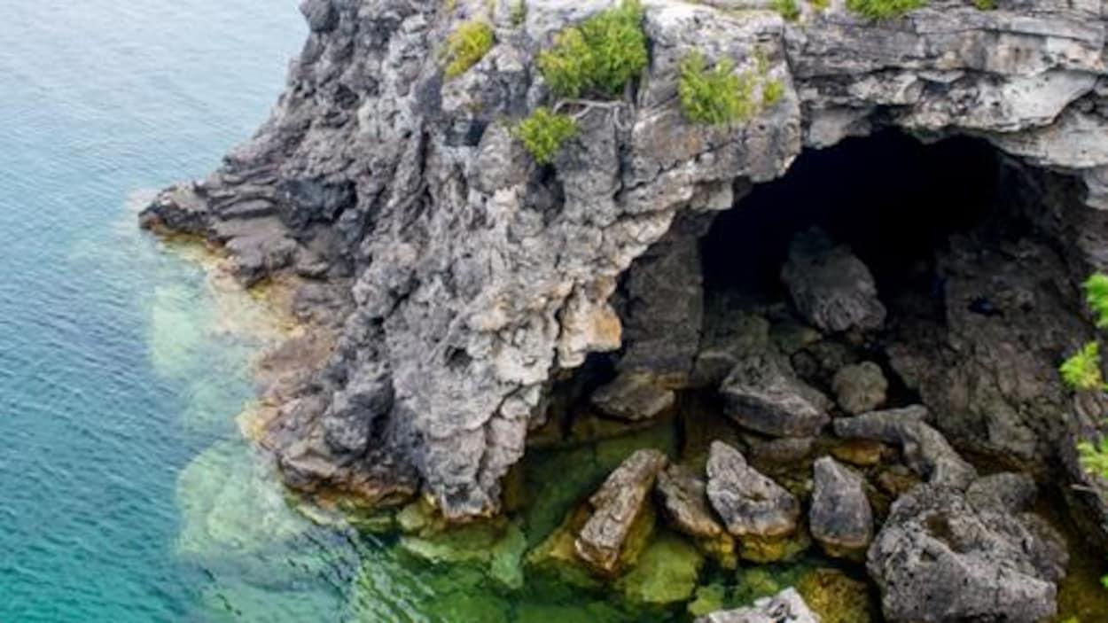 La grotte du parc national de la Péninsule-Bruce