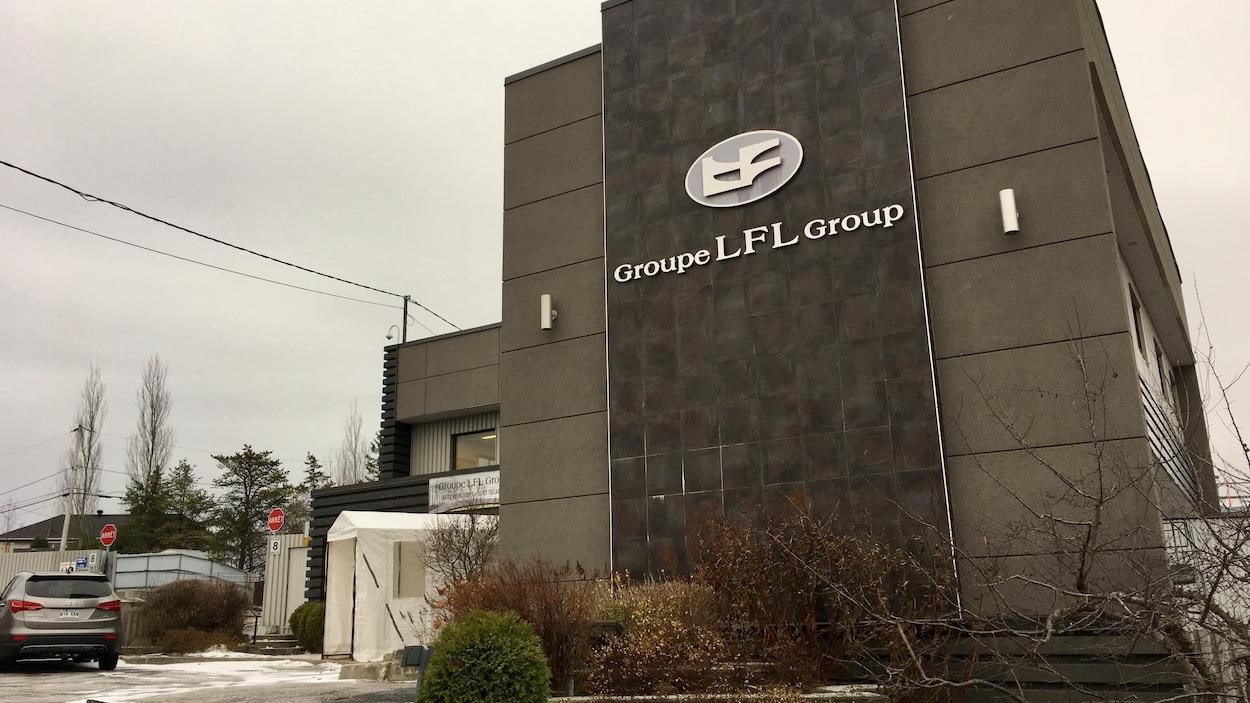 Le siège social du Groupe Laval Fortin à Alma