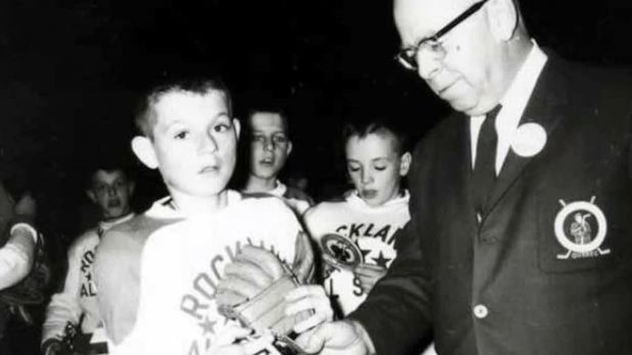 Guy Lafleur a participé au tournoi à trois reprises avec Rockland en 1962 et Thurso en 1963 et 1964