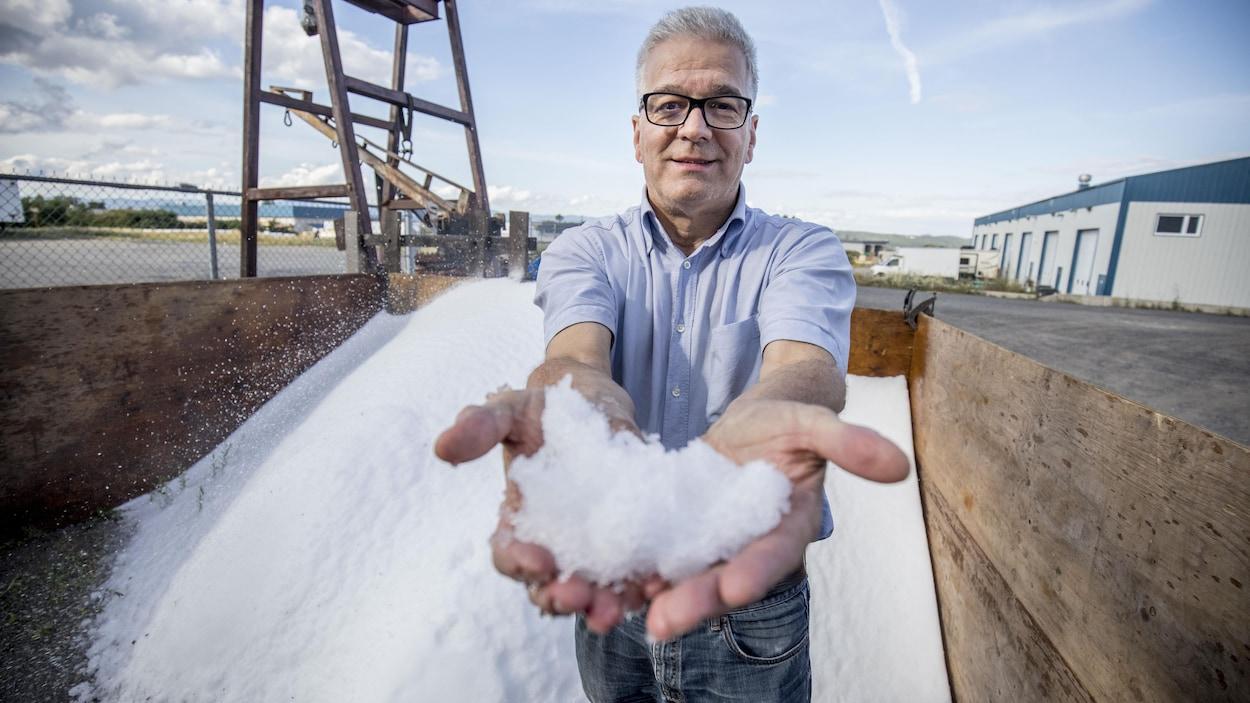 Guy Pelchat, propriétaire d'Industries Samson