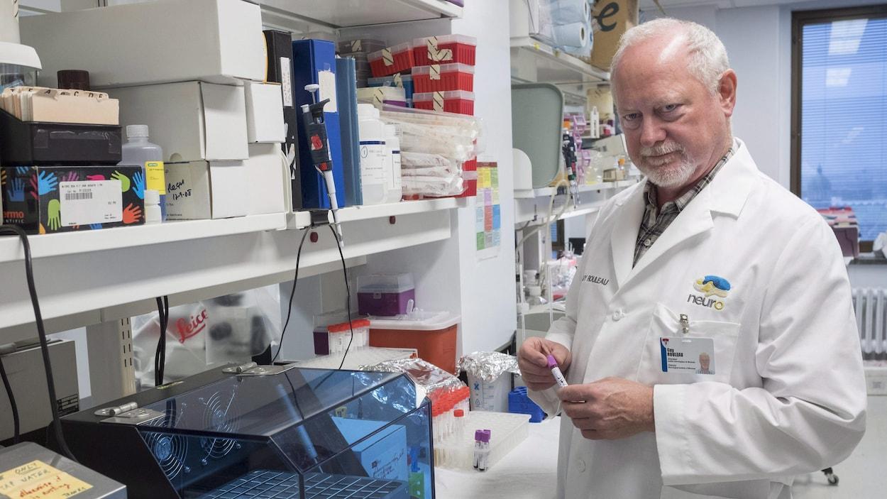 Le directeur du Neuro, Guy Rouleau