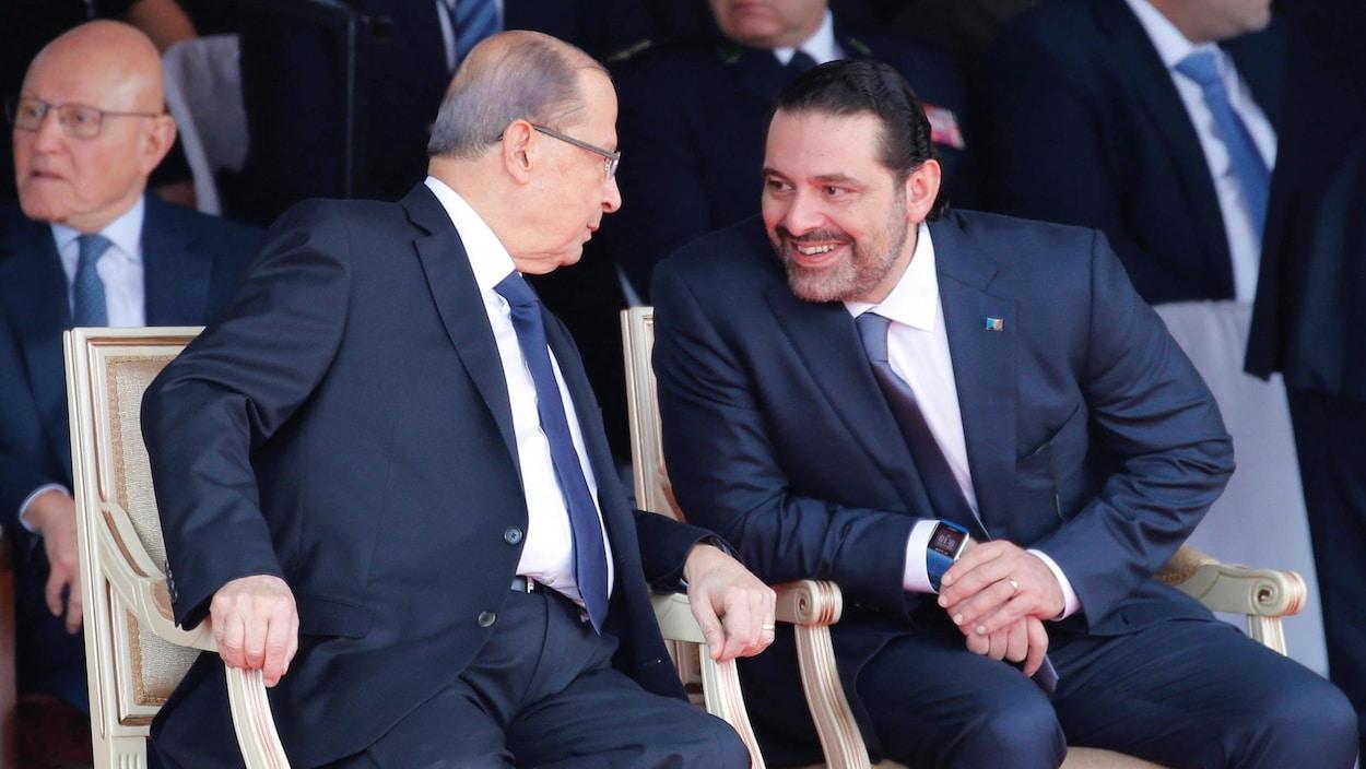 Saad Hariri a été reçu à l'Élysée — Liban
