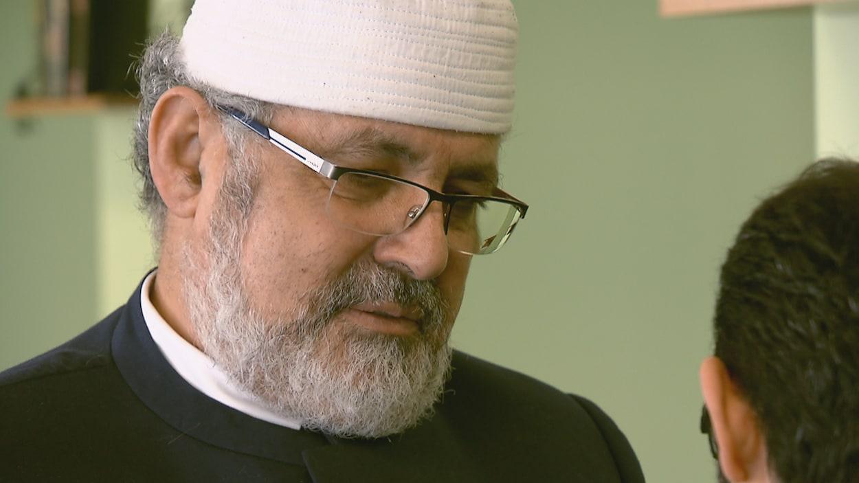 Hassan Guillet, porte-parole du Conseil des imams du Québec