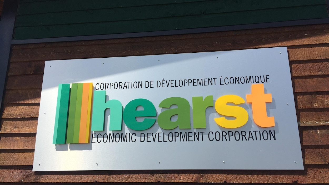 Affiche des Services de développement économique de Hearst