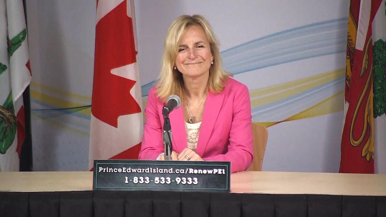 Le médecin hygiéniste en chef de l'Île-du-Prince-Édouard, la Dre Heather Morrison.