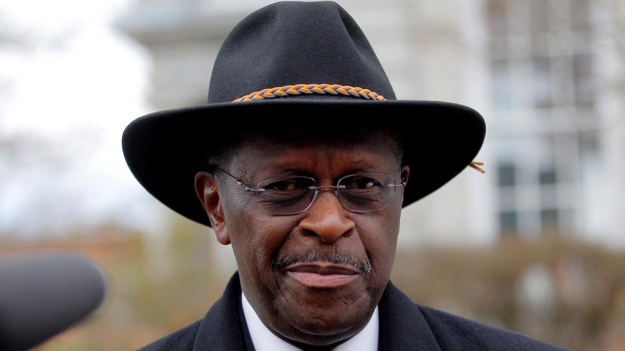 Portrait d'Herman Cain.