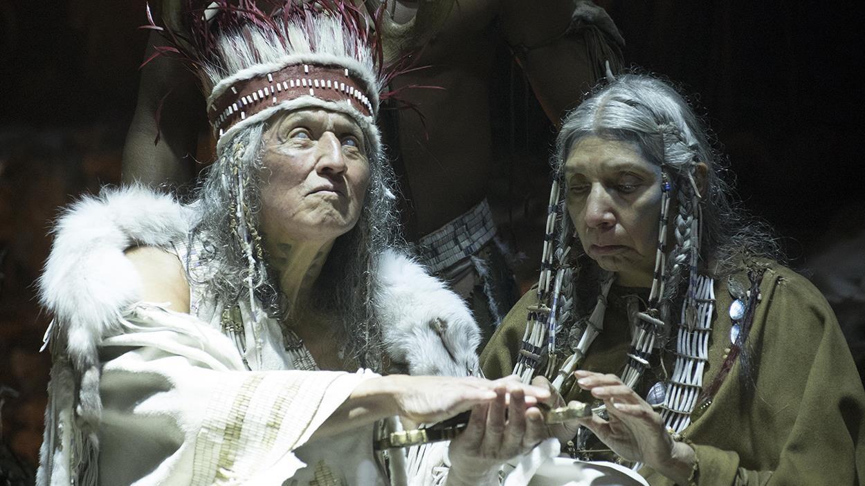 Une scène du film « Hochelaga, terre des âmes »