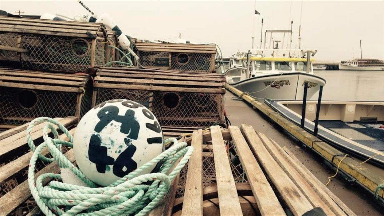 Un port de pêche à l'Île-du-Prince-Édouard