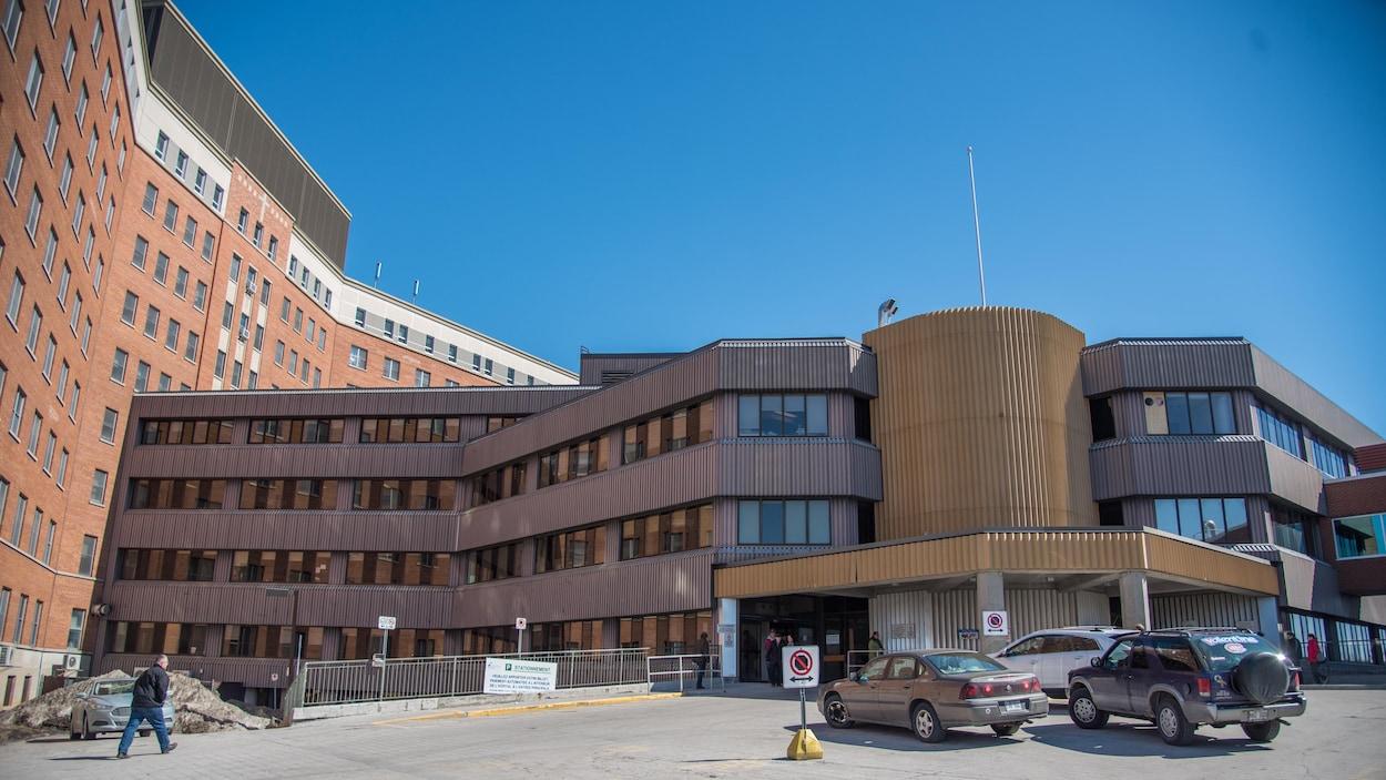 L'entrée de l'Hôpital de Hull. (Archives)