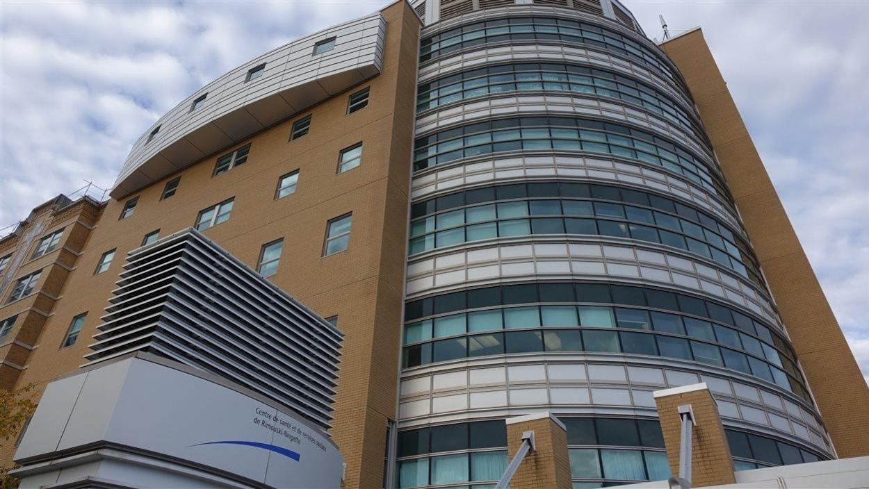 Hôpital régional de Rimouski.