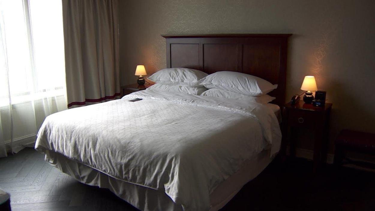 Une chambre d'hôtel à Toronto