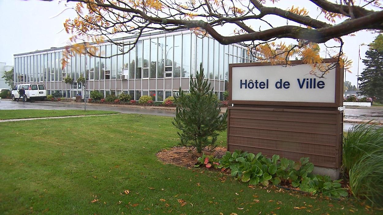 L'hôtel de ville de Sept-Îles.