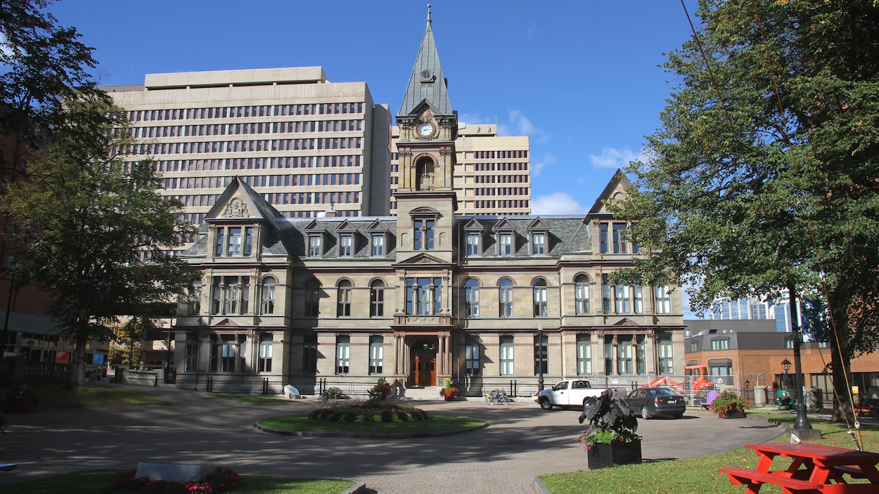 L'hôtel de ville d'Halifax.