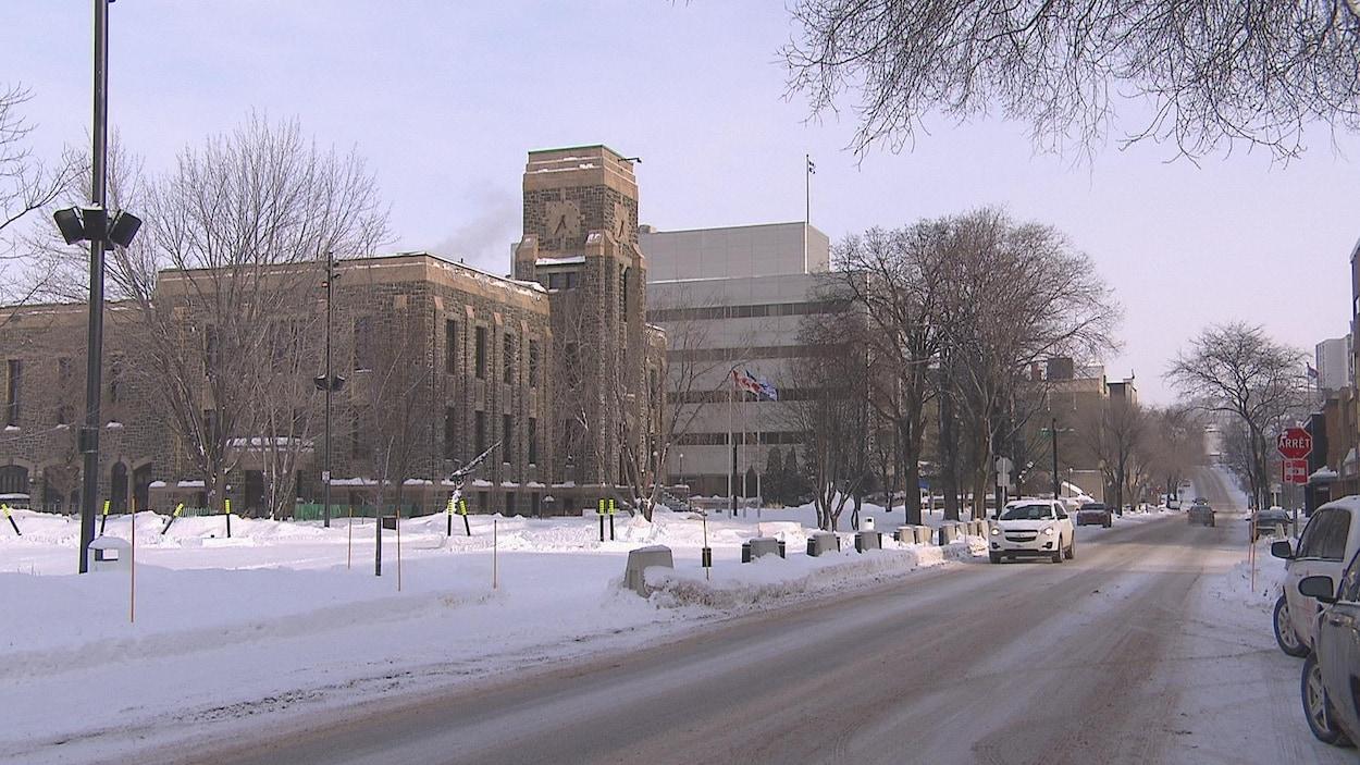L'hôtel de ville de Saguenay