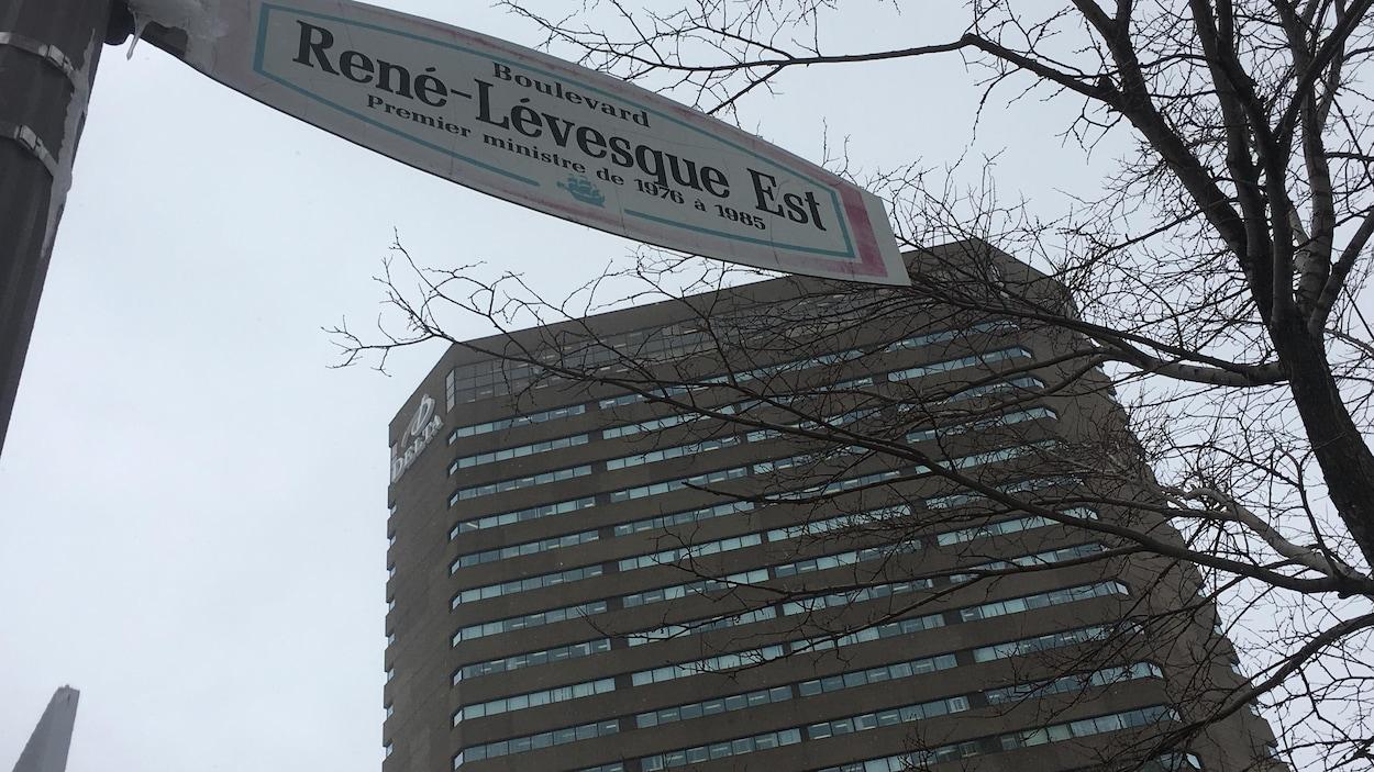 L'hôtel Delta sur le boulevard René-Lévesque est