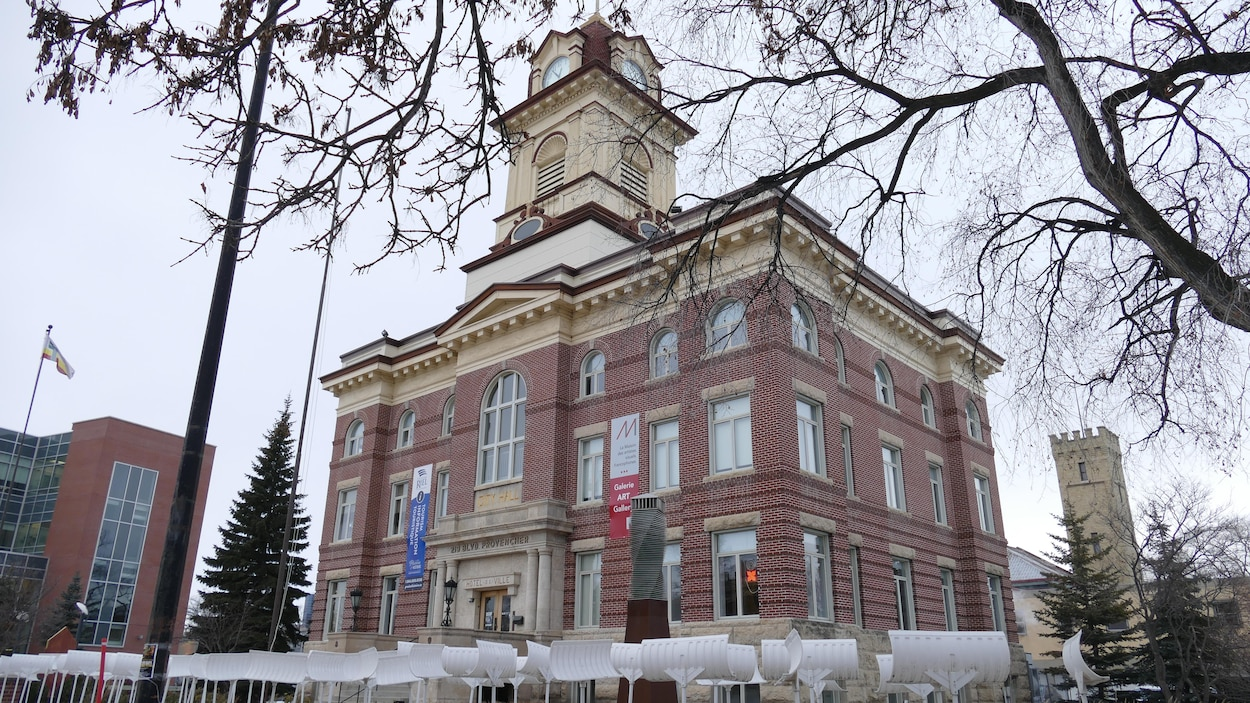 L'ancien hôtel de ville de Saint-Boniface.