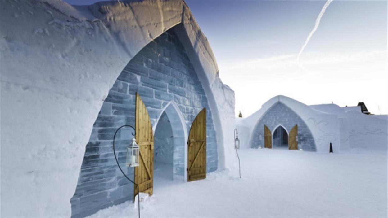L'Hôtel de glace ouvrira ses portes à la fin décembre, quelques jours plus tôt que prévu.