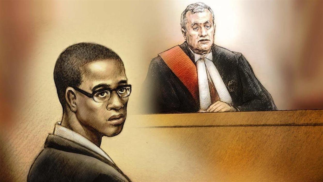 Un portrait d'un homme et d'un juge