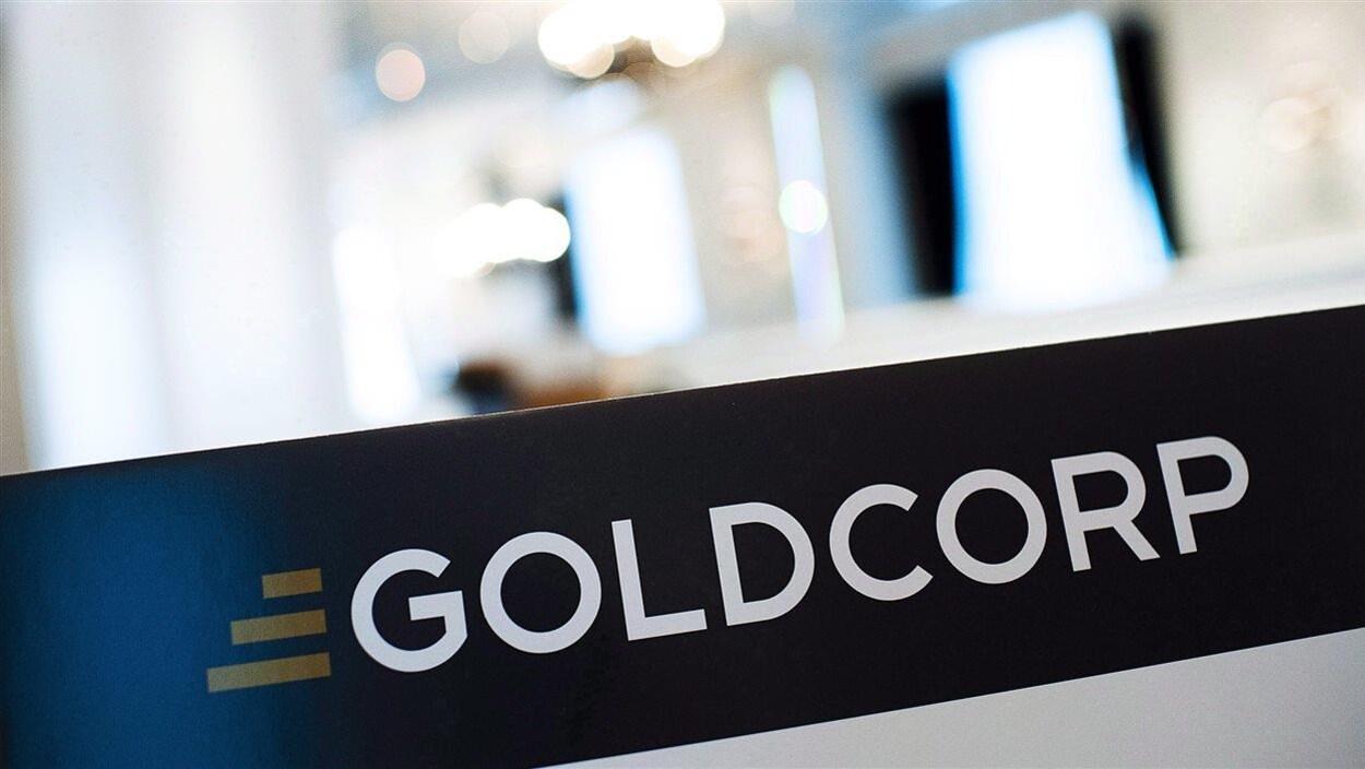 Logo de Goldcorp.