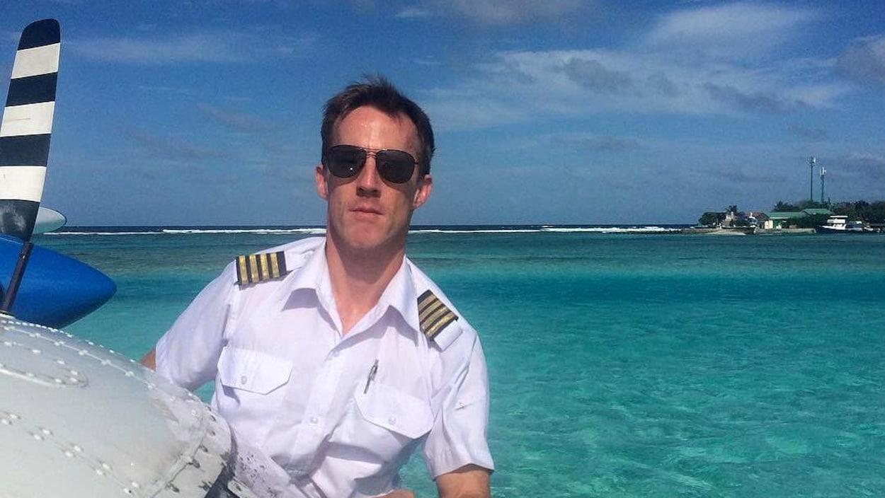 Le pilote Gareth Morgan.